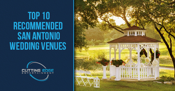 Top 10 recommended san antonio wedding venues junglespirit Image collections