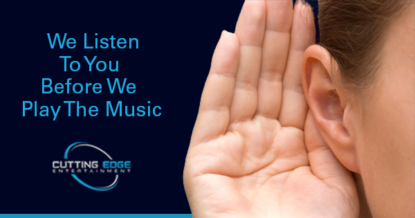 We Listen To You Before We Play The Music