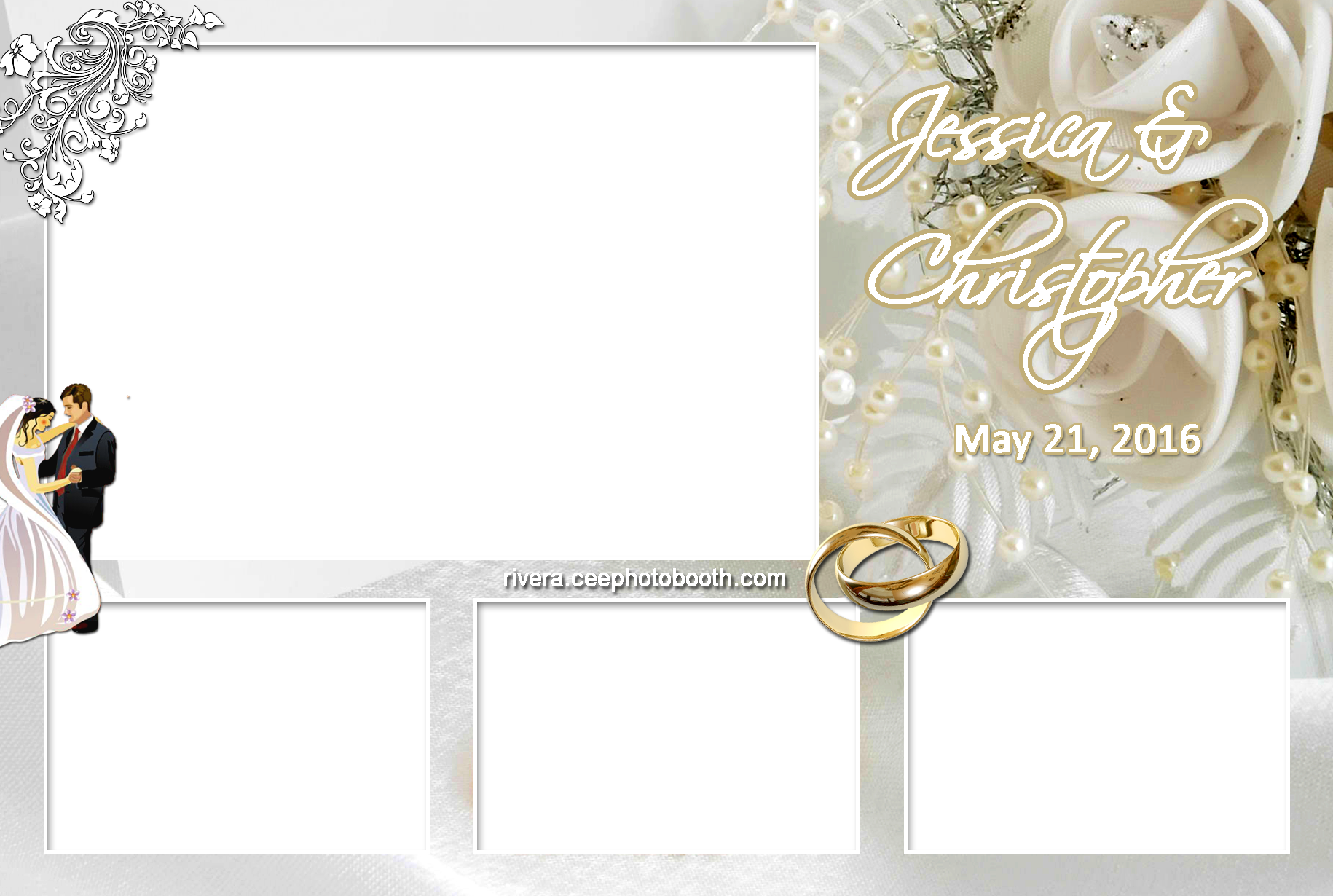 wedding photo booth layout 2