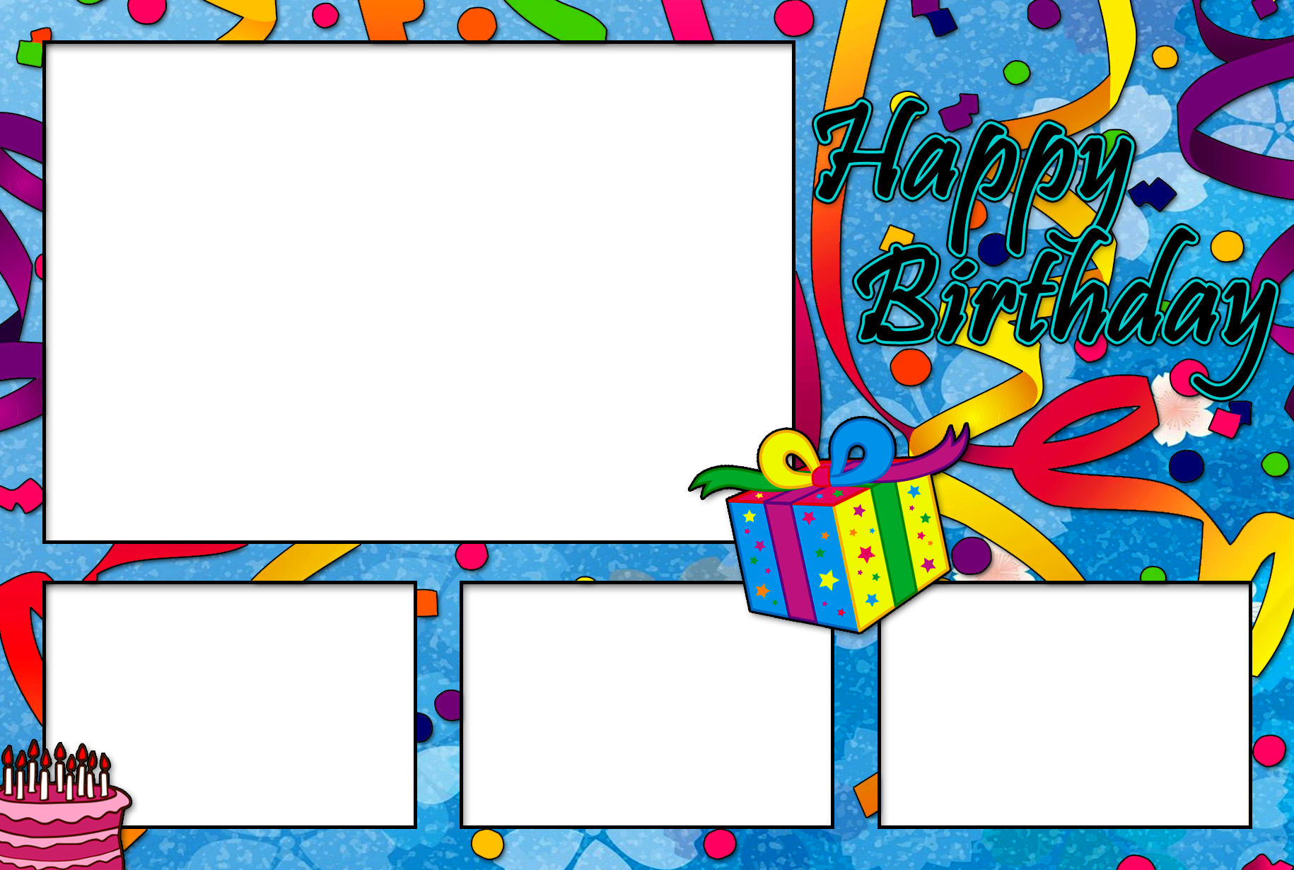 birthday photo booth layout 1