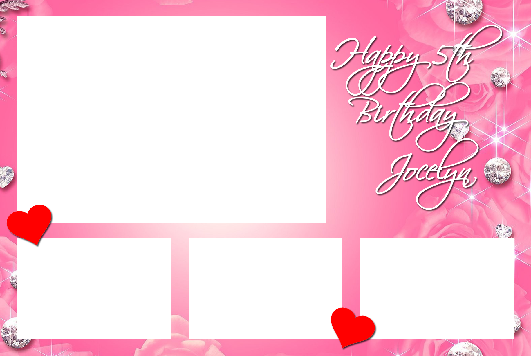 birthday photo booth layout 2