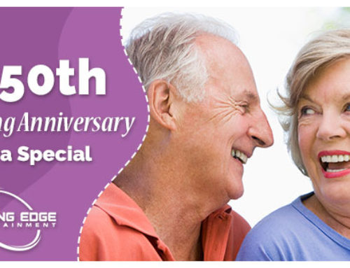 Make that 50th Wedding Anniversary Extra Special